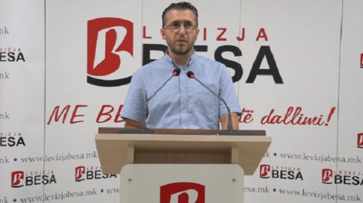 Lëvizja Besa : BDI-në dhe Qeverinë e LSDM-së nuk e amneston dorëheqja e Asim Musës