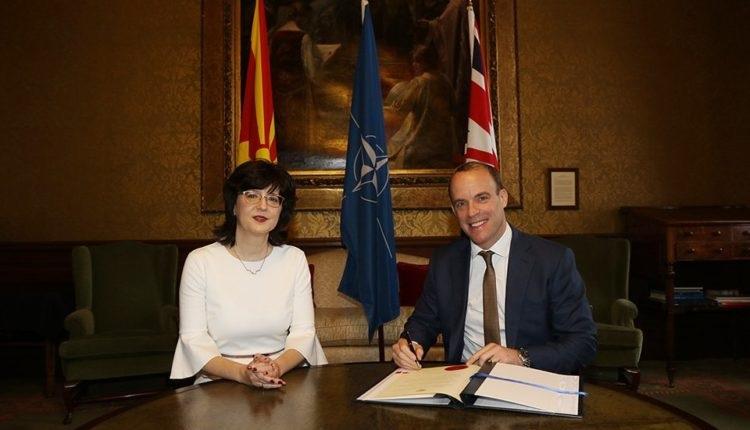 Britania ratifikoi Protokollin për anëtarësimin e RMV në NATO