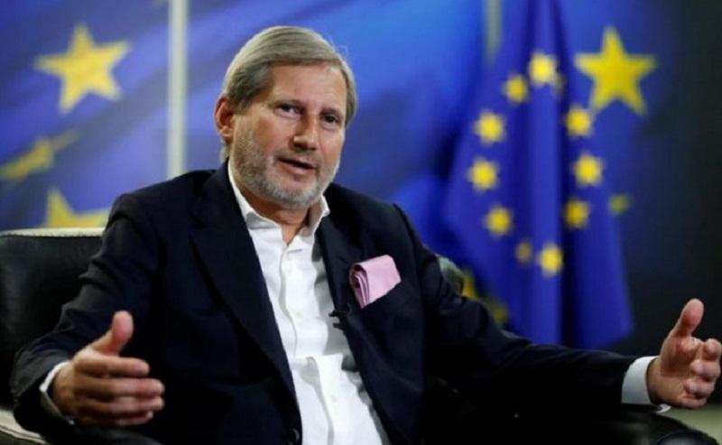 """Ministrat e jashtëm të BE-së """"JO"""" për Maqedoninë dhe Shqipërinë, Han i kërkon falje qytetarëve"""