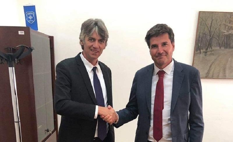 Ziadin Sela takoi zyrtarin e lartë të BE-së